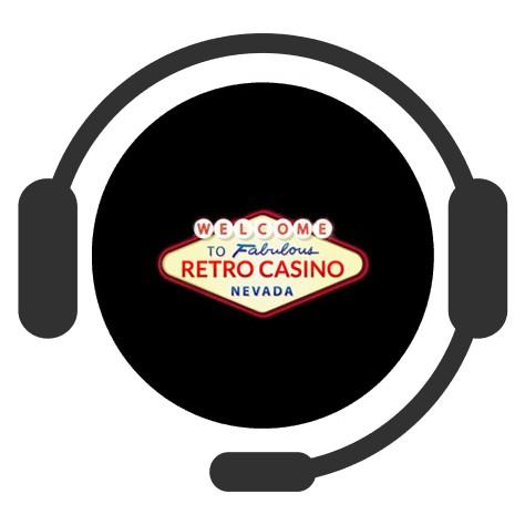 Retro Casino - Support