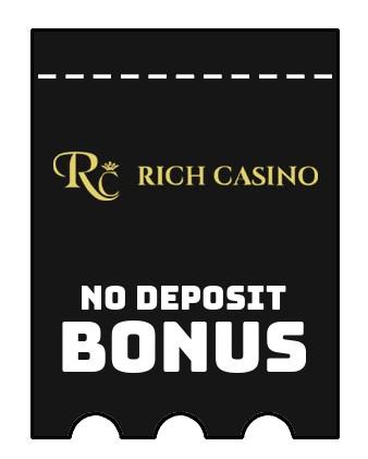 Rich Casino - no deposit bonus CR