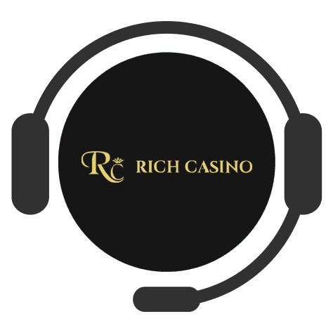 Rich Casino - Support