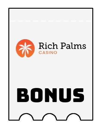 Latest bonus spins from Rich Palms