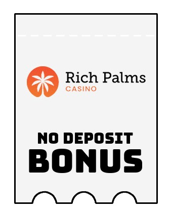 Rich Palms - no deposit bonus CR