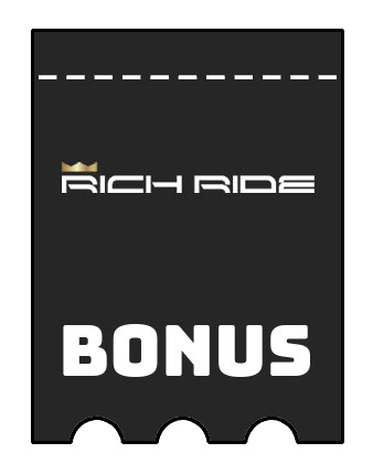 Latest bonus spins from Rich Ride