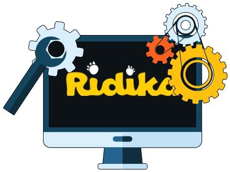 Ridika Casino - Software