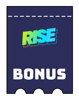 Latest bonus spins from Rise Casino