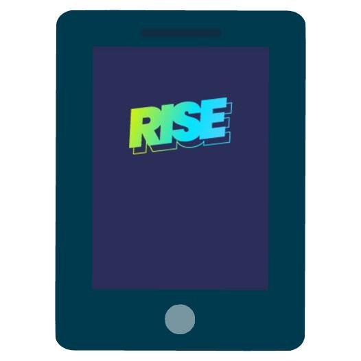 Rise Casino - Mobile friendly
