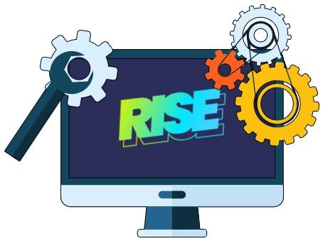 Rise Casino - Software