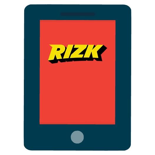 Rizk Casino - Mobile friendly