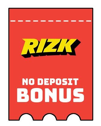 Rizk Casino - no deposit bonus CR