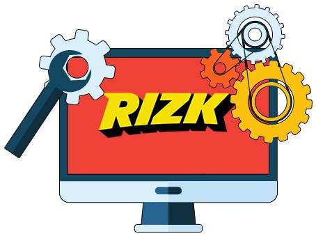 Rizk Casino - Software