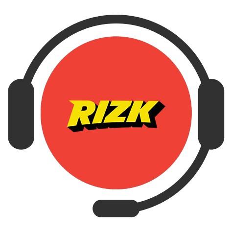 Rizk Casino - Support