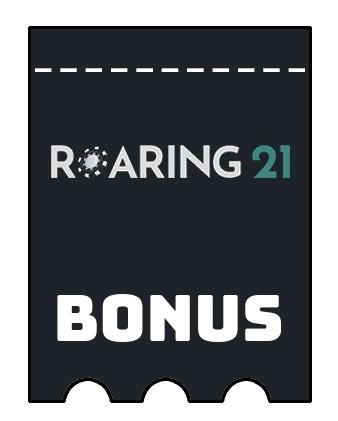 Latest bonus spins from Roaring21 Casino