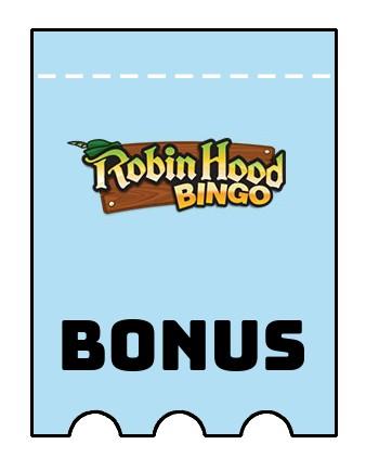 Latest bonus spins from Robin Hood Bingo