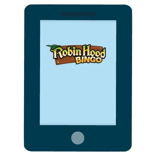 Robin Hood Bingo - Mobile friendly