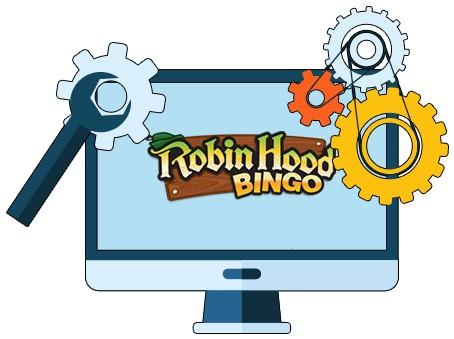 Robin Hood Bingo - Software