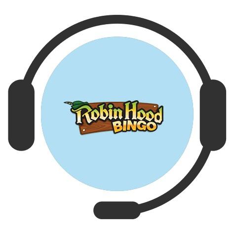Robin Hood Bingo - Support