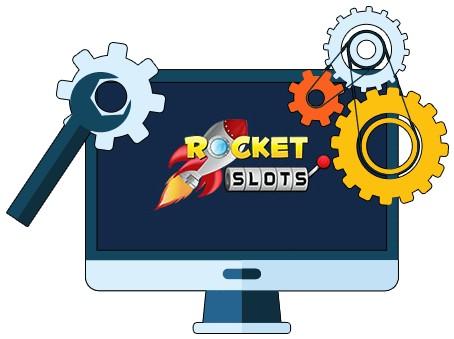 Rocket Slots Casino - Software