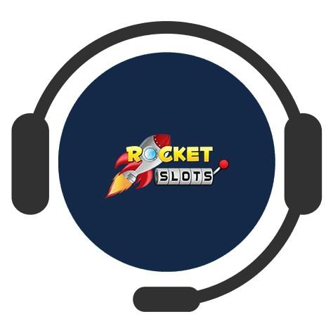 Rocket Slots Casino - Support