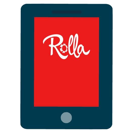 Rolla Casino - Mobile friendly
