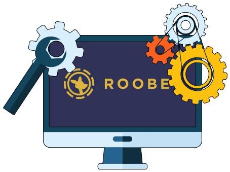 Roobet - Software