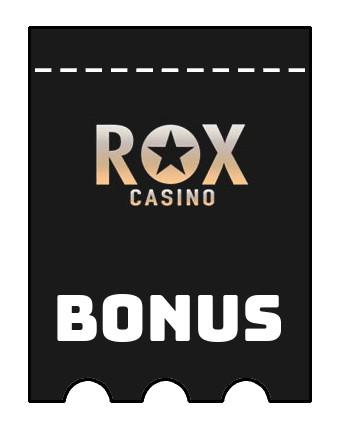 Latest bonus spins from Rox Casino