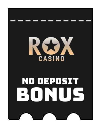 Rox Casino - no deposit bonus CR