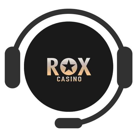 Rox Casino - Support