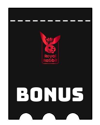 Latest bonus spins from Royal Rabbit