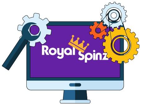 Royal Spinz Casino - Software
