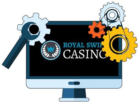 Royal Swipe Casino - Software