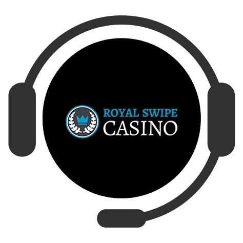 Royal Swipe Casino - Support