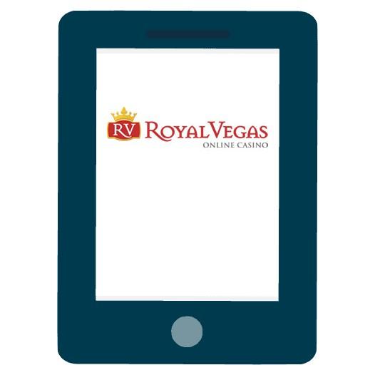Royal Vegas Casino - Mobile friendly