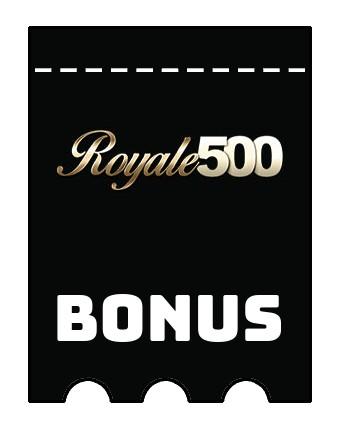Latest bonus spins from Royale 500 Casino