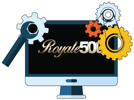 Royale 500 Casino - Software