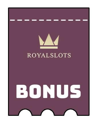 Latest bonus spins from RoyalSlots Casino