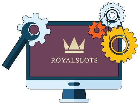RoyalSlots Casino - Software