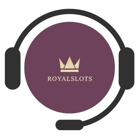 RoyalSlots Casino - Support