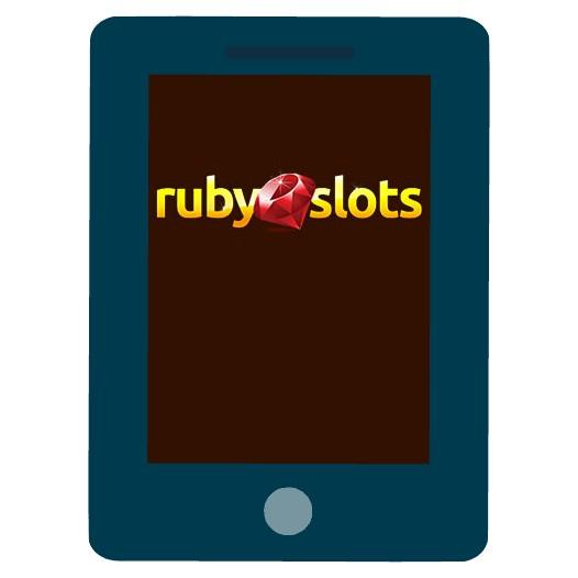 Ruby Slots Casino - Mobile friendly