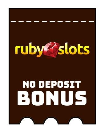 Ruby Slots Casino - no deposit bonus CR