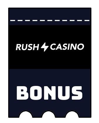 Latest bonus spins from Rush Casino