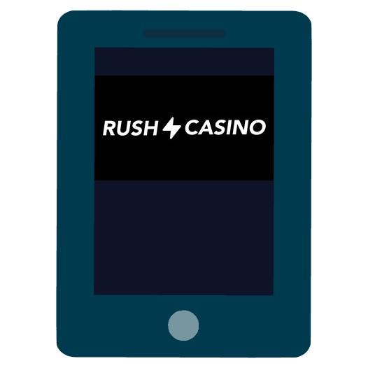 Rush Casino - Mobile friendly