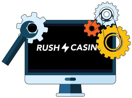 Rush Casino - Software
