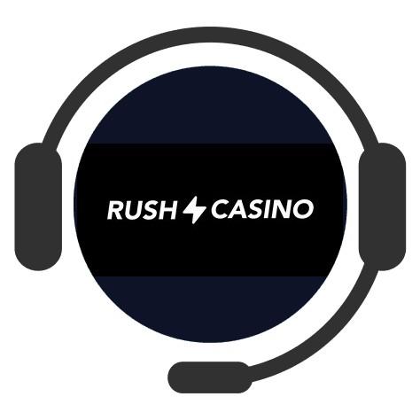Rush Casino - Support