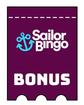 Latest bonus spins from Sailor Bingo Casino