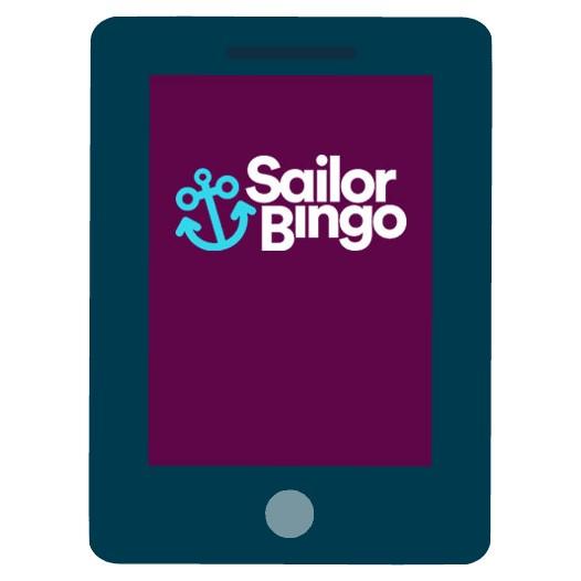 Sailor Bingo Casino - Mobile friendly