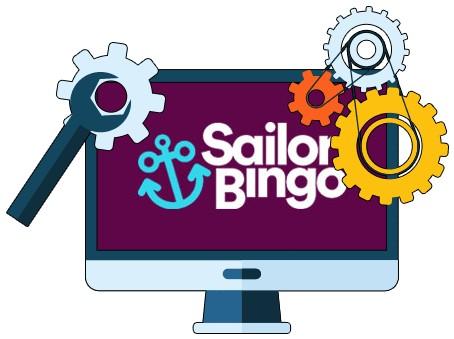Sailor Bingo Casino - Software