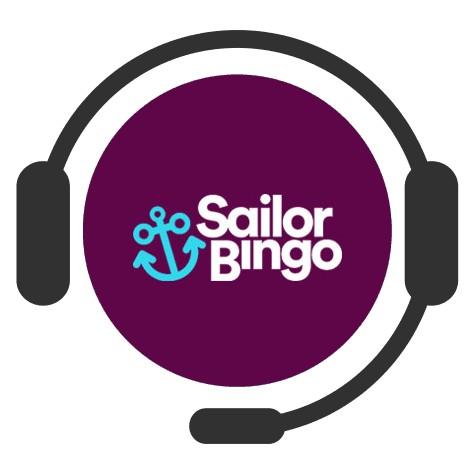 Sailor Bingo Casino - Support