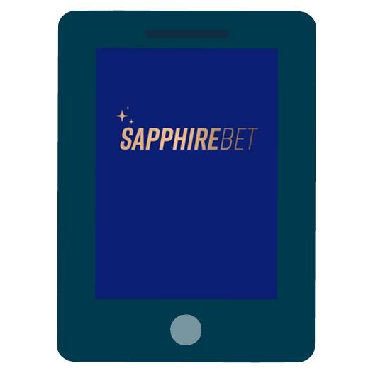 Sapphirebet - Mobile friendly