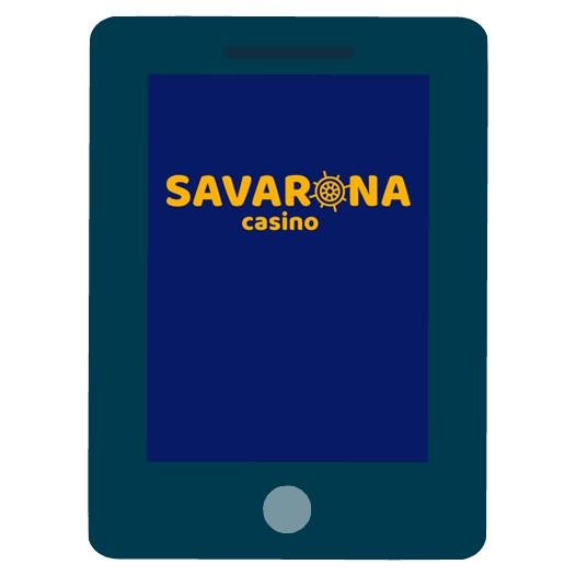 Savarona - Mobile friendly