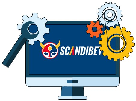 Scandibet Casino - Software
