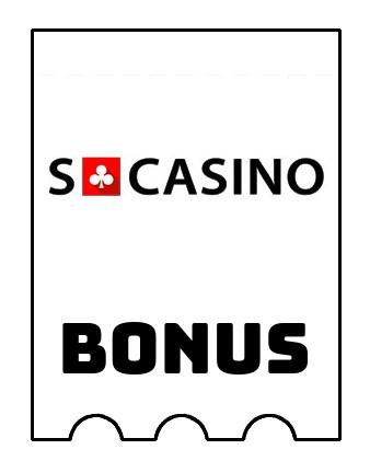 Latest bonus spins from SCasino